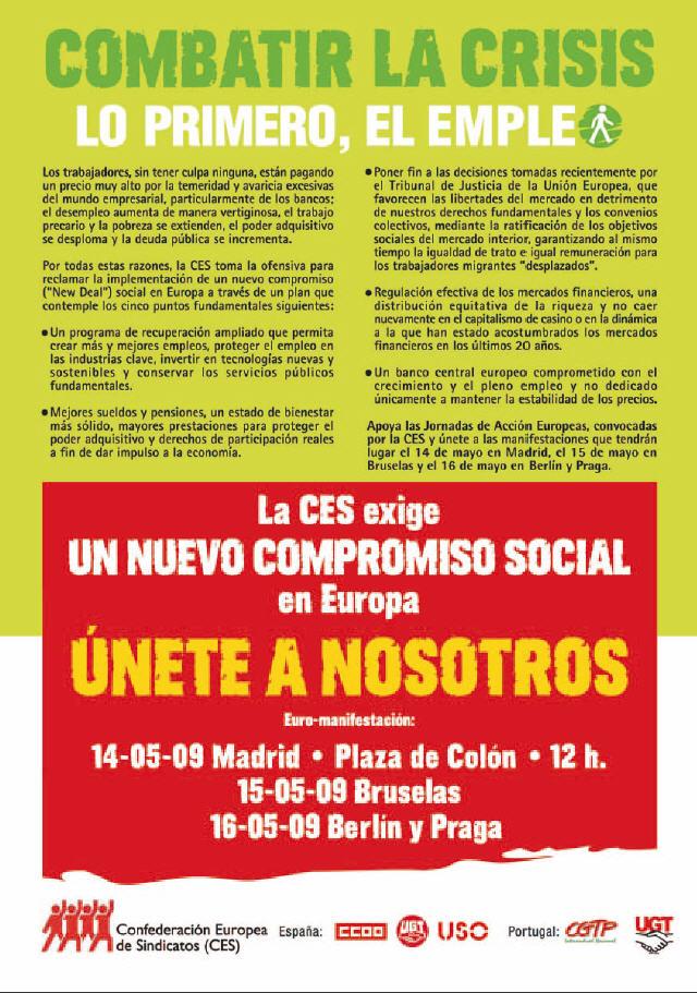 manifiesto euromanifestacion