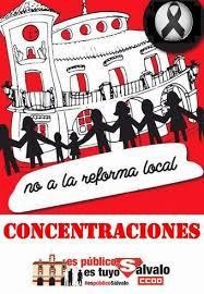 No a la reforma local