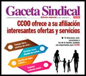 3.GACETA SINDICAL. OFERTAS Y SERVICIOS PARA LA AFILIACIÓN