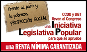1. Iniciativa Legislativa Popular. Por una Renta Mínima Garantizada