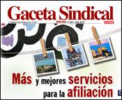 3.GACETA SINDICAL. OFERTAS Y SERVICIOS PARA LA AFILIACIÓN 2015