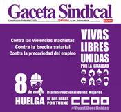2. GACETA SINDICAL. HUELGA INTERNACIONAL FEMINISTA 8M